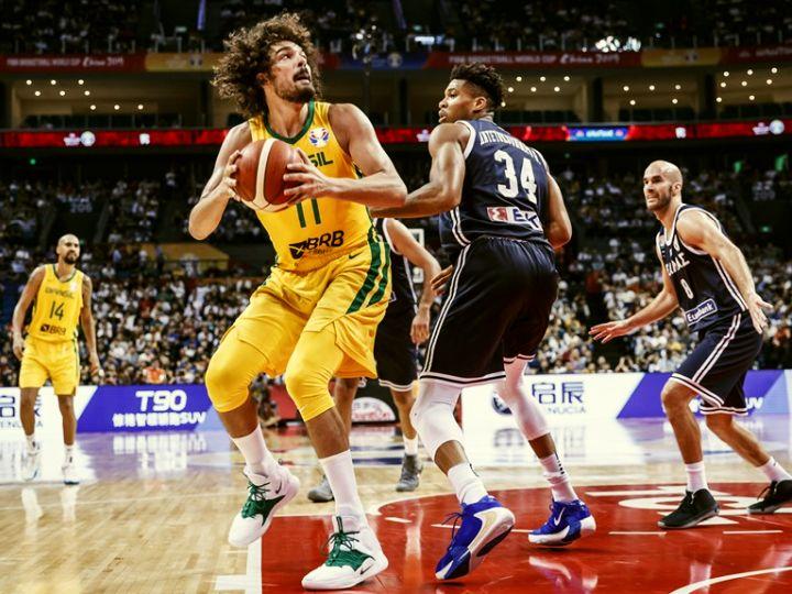NBAから消えたバレジャオ、アデトクンボを上回るプレーでブラジルを勝利に導く
