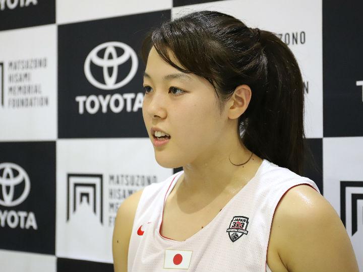 3x3U23日本代表の山本麻衣「2020年に向けて勝つことが求められる」