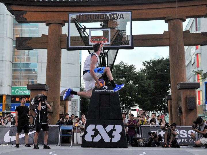 3人制バスケットボール『3x3』のクラブチーム世界一最終決定戦が宇都宮で開催