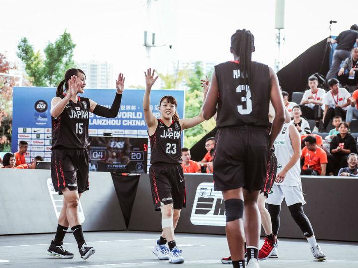 3x3U23女子日本代表