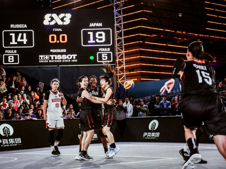 3人制バスケ『3x3』のU23日本代表、痛快な攻撃バスケットでワールドカップ制覇!
