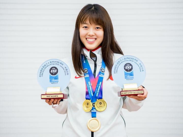 『3x3』日本代表の山本麻衣、世界一&MVP&シュートコンテスト優勝の3冠達成