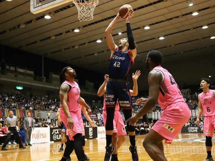 チーム一丸の横浜ビーコルセアーズ、守備の強度で秋田を上回りホームで初勝利