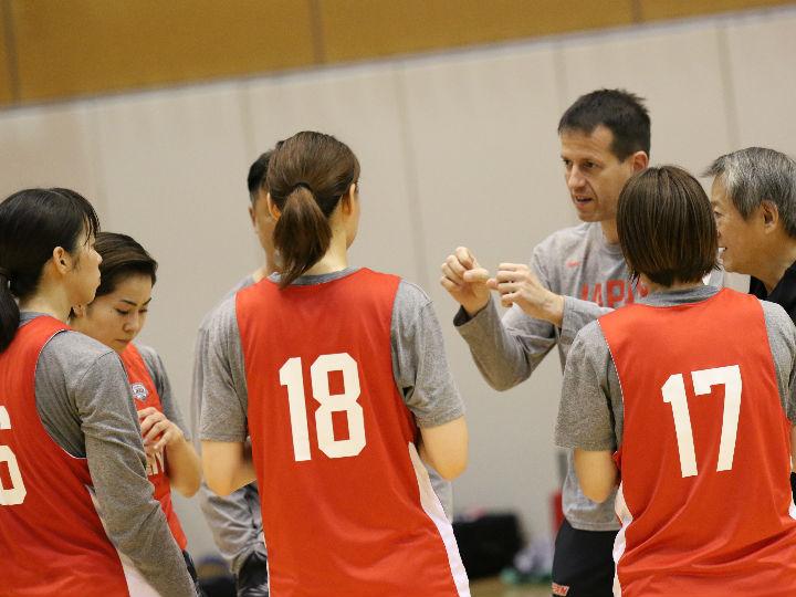 オリンピック予選へ向け始動した3人制バスケ女子日本代表「選手たちは貪欲です」