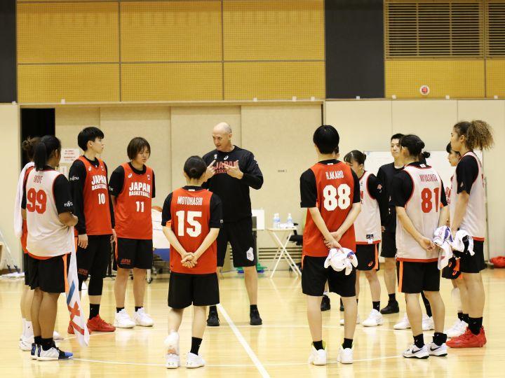 バスケ女子日本代表が合宿スタート、復帰の吉田亜沙美「思いにしっかり応えたい」