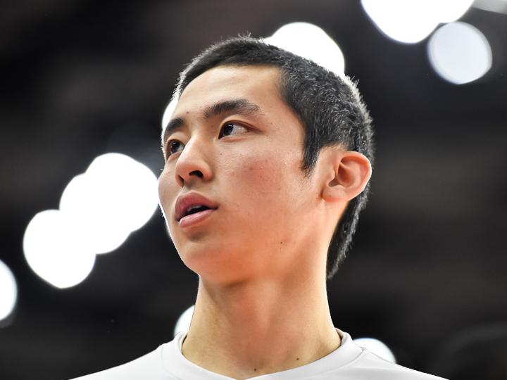 今大会で最も注目を集める福岡第一の河村勇輝は初戦に完勝も「慎重になりすぎた」