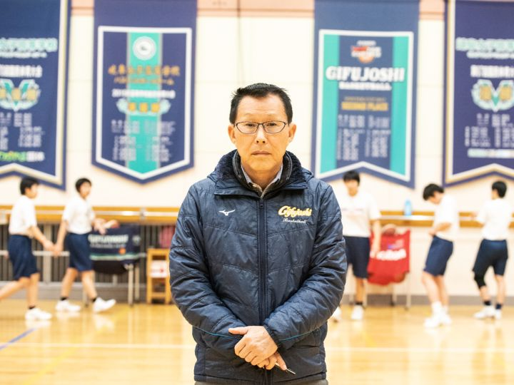 [ウインターカップ特集]岐阜女子の安江満夫監督「バスケは正直なスポーツです」