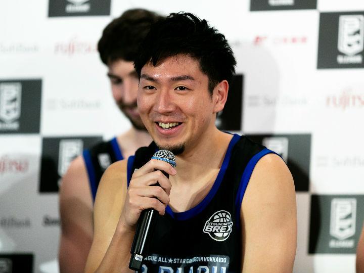 比江島慎、Bリーグオールスター@北海道の意気込み「ファンの方を楽しませたい」