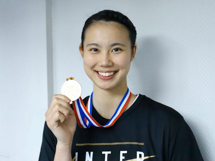 インカレ3連覇で大学バスケを終えた東京医療保健大の藤本愛妃「これが完全燃焼」