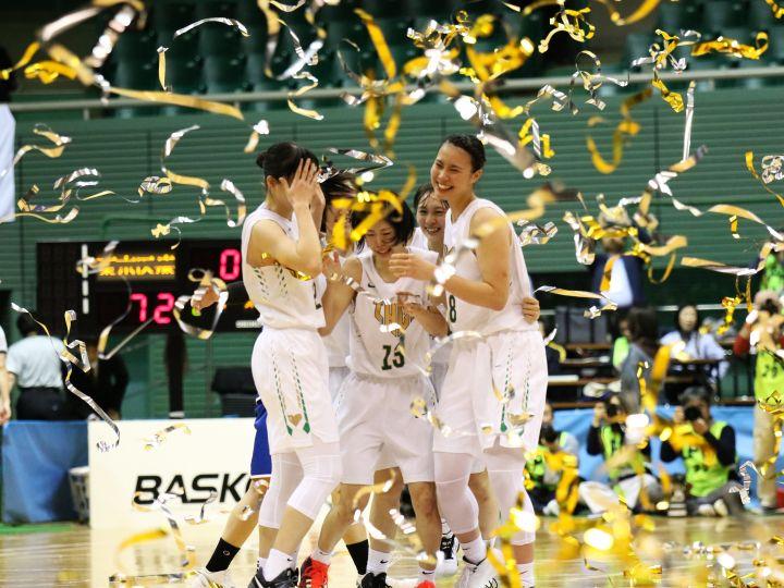 自分たちのバスケを貫いた東京医療保健大、白鷗大に競り勝ってインカレ3連覇!
