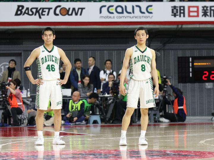 福岡第一が『堅守速攻』のバスケで九州学院に104-59で完勝、ベスト8へ駒を進める