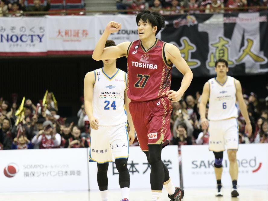 川崎ブレイブサンダースは篠山竜青が負傷するも、ここ一番の決定力で上回り滋賀に勝利
