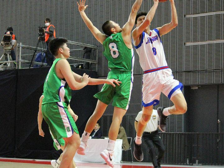 県立広島皆実は初戦敗退、38得点20リバウンドの三谷桂司朗「力を出し切れた」