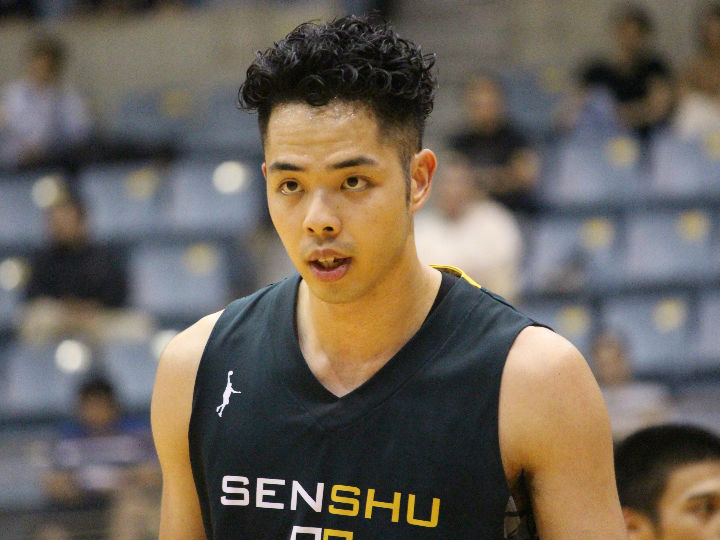 専修大の盛實海翔、昨シーズンに続き特別指定選手としてサンロッカーズ渋谷に加入