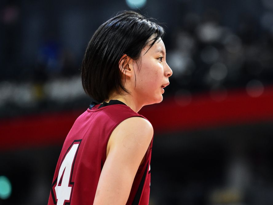 大阪薫英女学院の森岡奈菜未、高校バスケは悔しい大敗で終わるも「人として成長させてもらえた3年間でした」