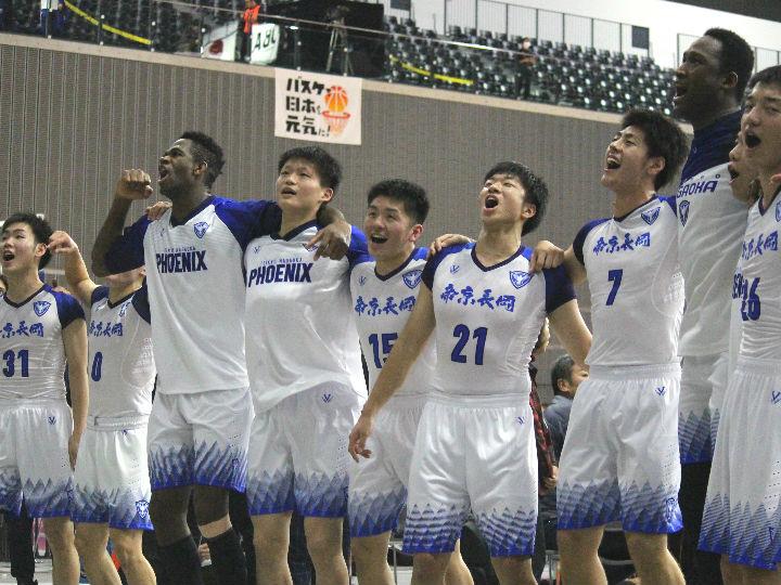 帝京長岡、留学生プレーヤーを2人欠く事態に陥るもチーム一丸で実践学園に快勝