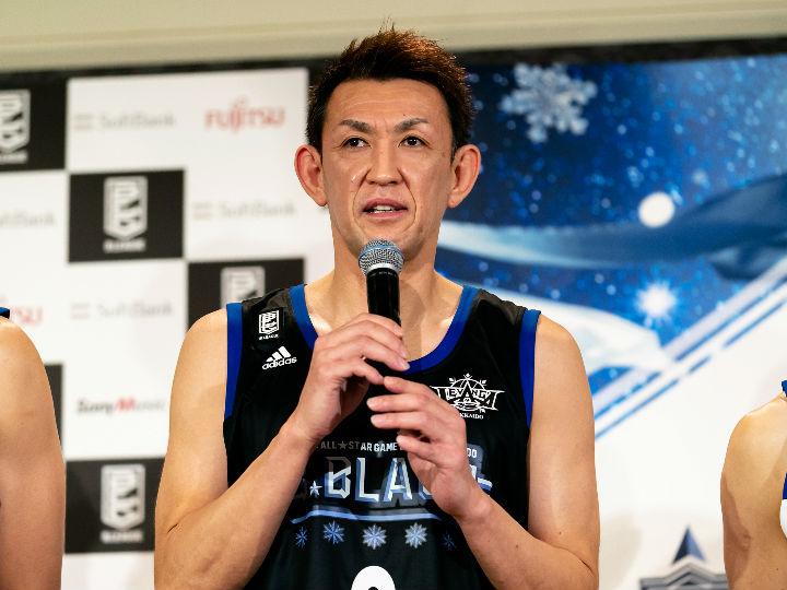 折茂武彦が語る最初で最後のBリーグオールスター@北海道「選ばれたことに感謝」