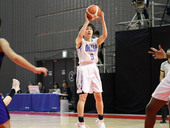 桜花学園がベスト4進出、精度の高いバスケットで夏の女王の貫禄を見せ精華女子に勝利