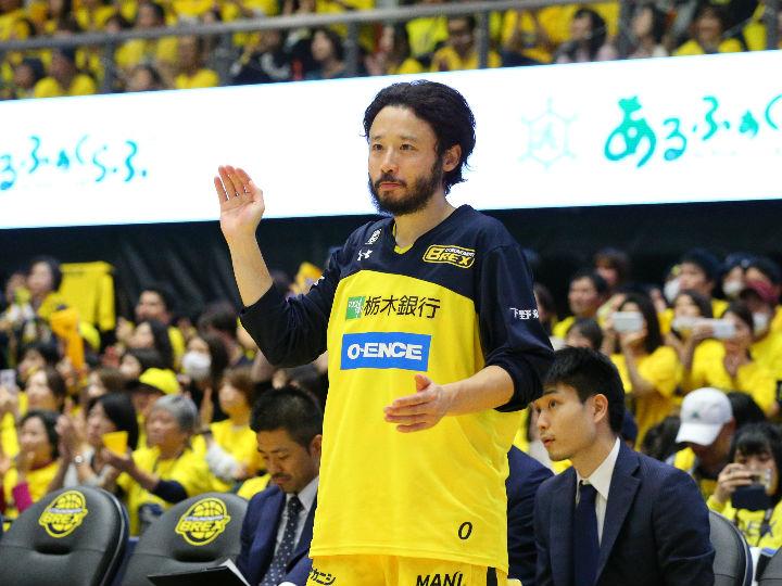 欠場が続いていた宇都宮ブレックスの田臥勇太、復帰時期未定の左膝半月板損傷
