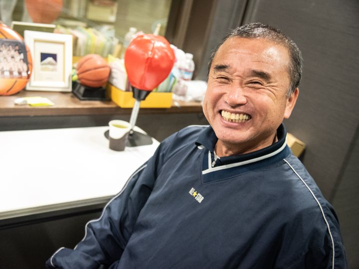 [ウインターカップ特集]大阪桐蔭を率いる森田久鶴監督「小さくても走って勝つ」