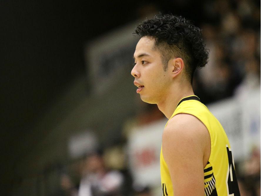 特別指定選手としてサンロッカーズ渋谷に加入した盛實海翔「もっとディフェンスを頑張らないといけない」