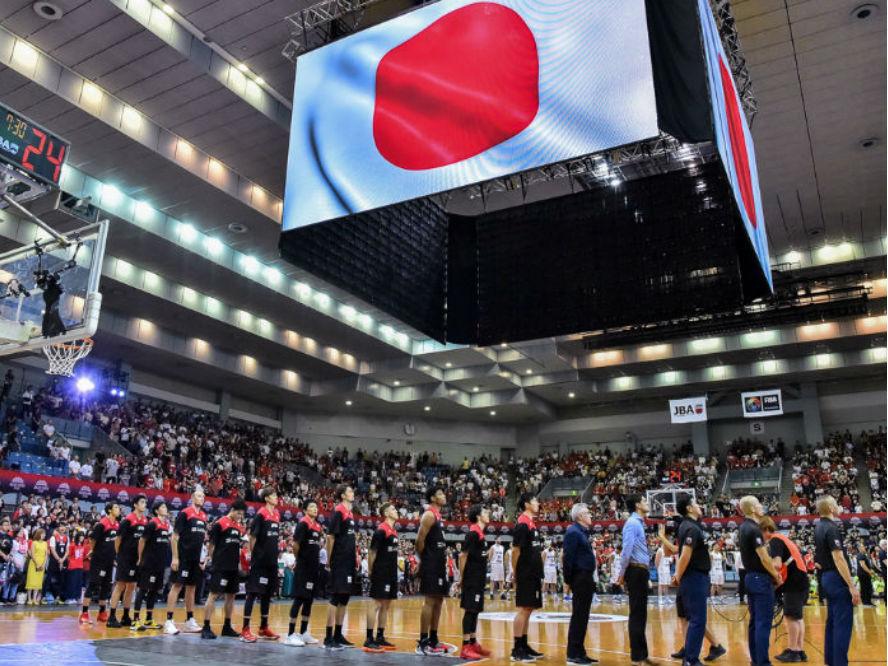 バスケ男子日本代表