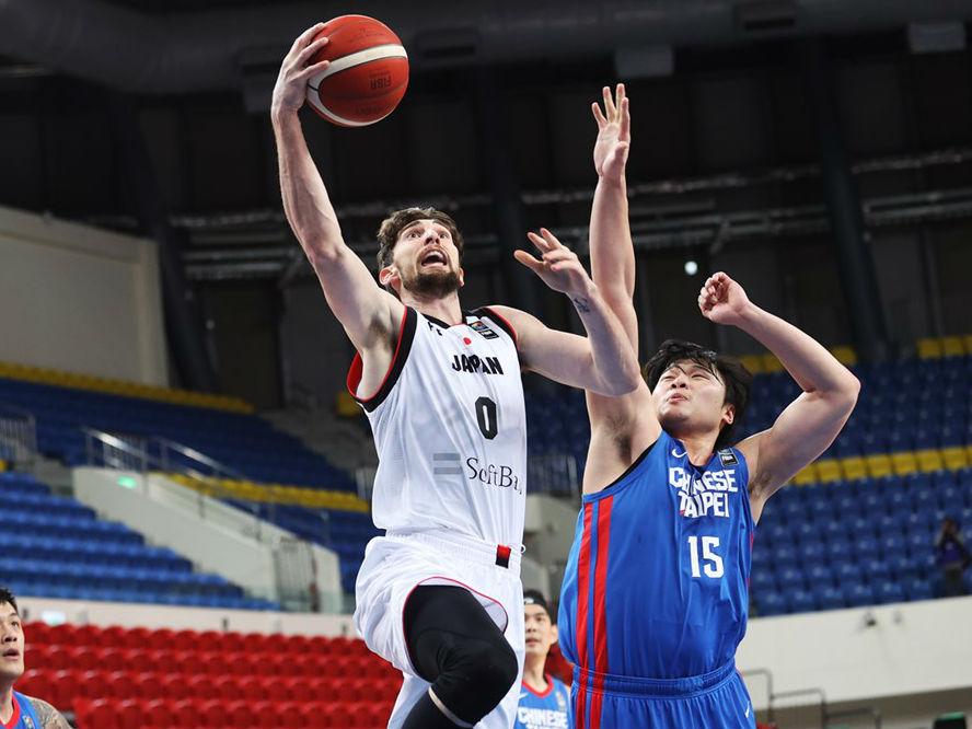 新戦力が躍動したバスケ日本代表、国内組で挑んだアジアカップ予選初戦を39点差の圧勝