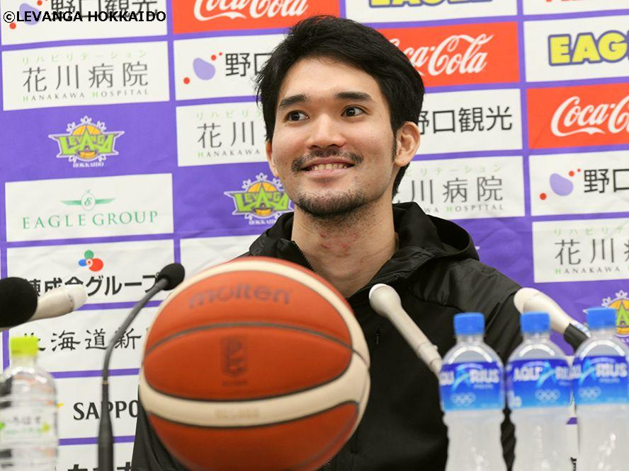 レバンガ北海道の松島良豪が現役引退を表明「最後の1分1秒まで仲間と競争し、チームを勝たせたい」