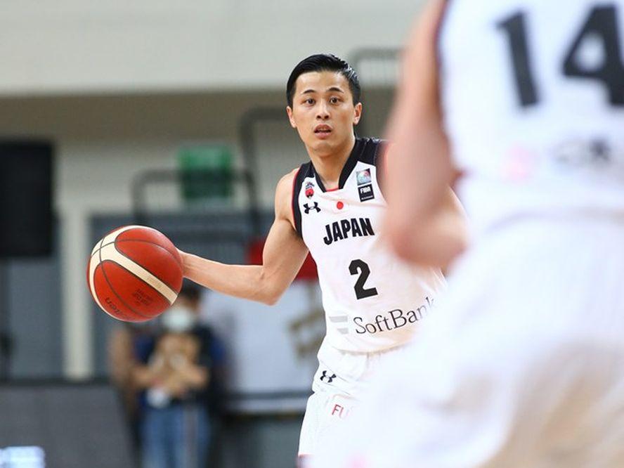 日本代表復帰戦の富樫勇樹、上々のパフォーマンスを披露「練習からコートで表現した結果」