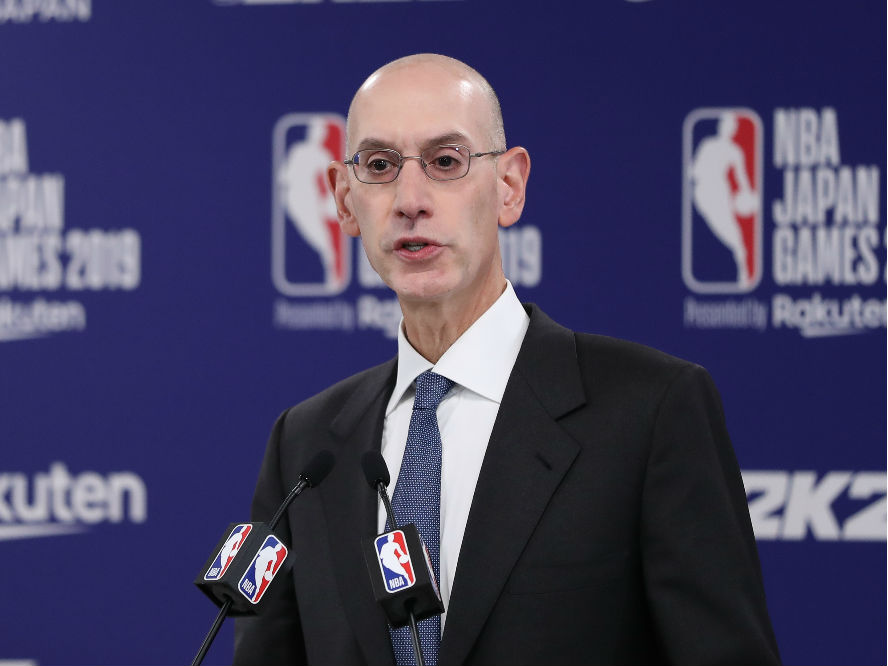 NBAトップのアダム・シルバー、シーズンの再開時期や試合方法をあらゆる選択肢で検討中