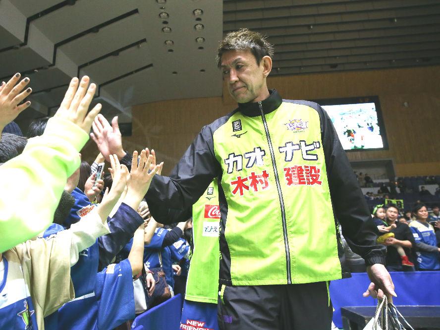 無観客でのリーグ再開に、レバンガ北海道の折茂武彦は「皆さんに元気を届けることができれば」