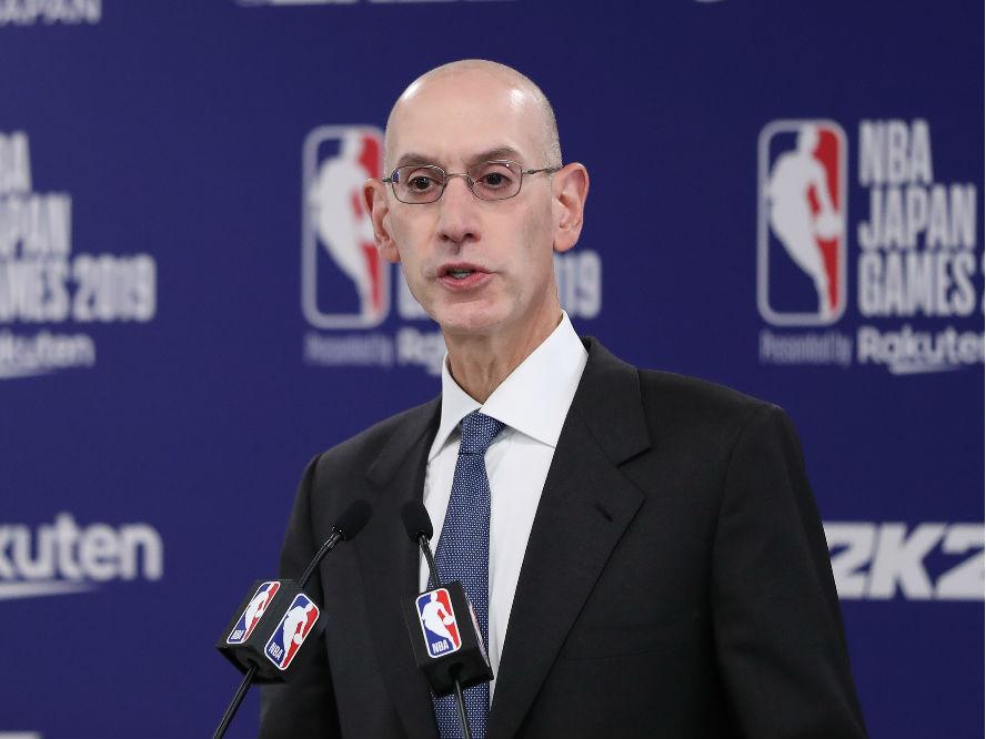 NBAコミッショナーが選手たちと対話、今秋開幕の2020-21シーズンを無観客で行う可能性も