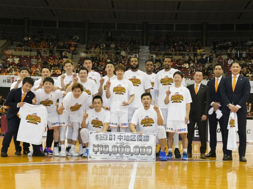 リーグ中断期間は特選フルゲームを楽しもう!!『バスケットLIVE』で新潟の中地区優勝の瞬間を