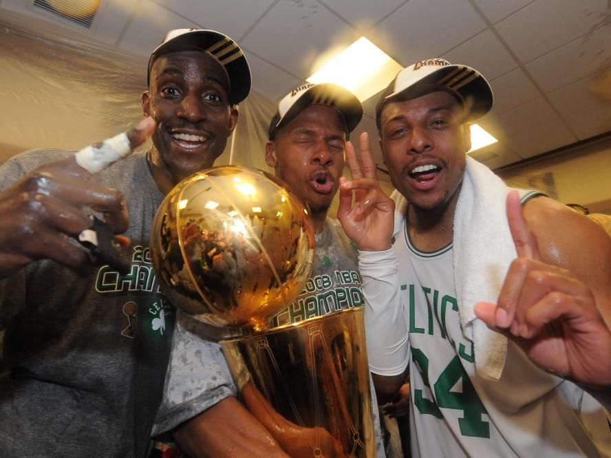 バスケットボール殿堂入りを果たしたケビン・ガーネット、2008年優勝チームを「生涯兄弟のような関係」と語る