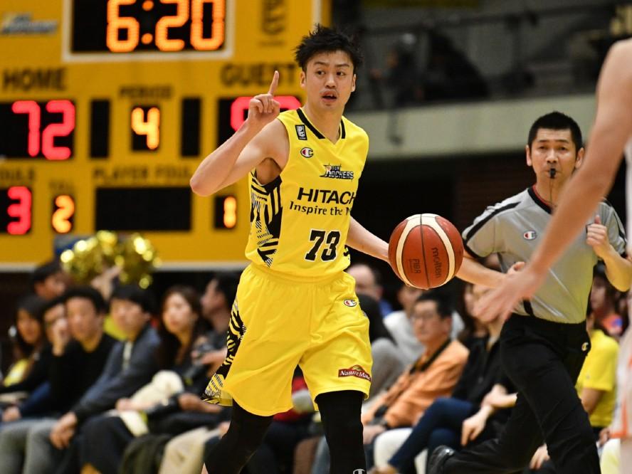 サンロッカーズ渋谷の田渡修人、移籍1年目のシーズンを終え「精神的な葛藤も含めて成長できた」