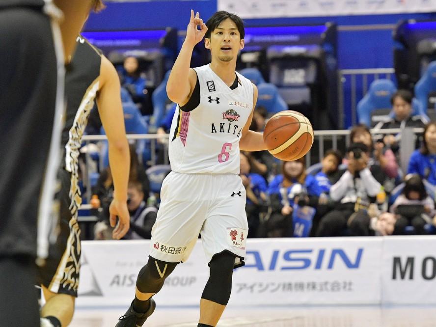 秋田ノーザンハピネッツが細谷将司と契約継続「来シーズンに向けて僕は進化していきます」