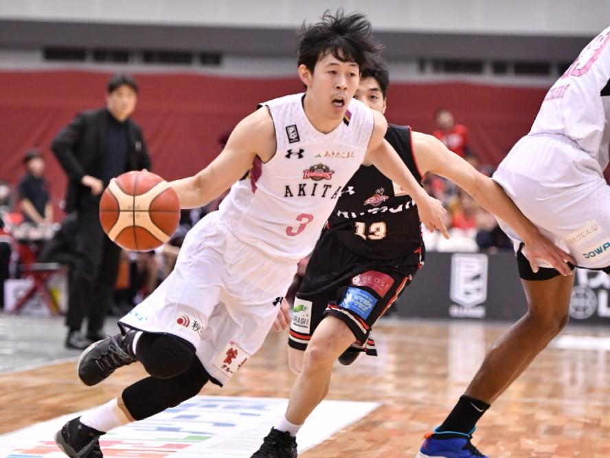 秋田ノーザンハピネッツの大浦颯太、プロとして歩み始めて「お客さんが試合を盛り上げてくれていると実感」