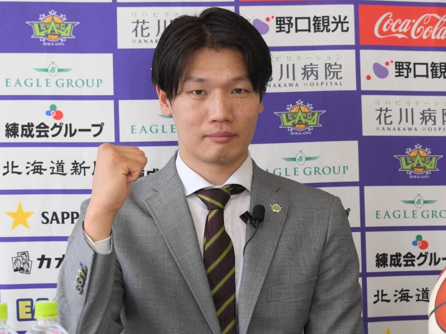 新生レバンガ北海道の柱として期待される桜井良太の決意「プレーでチームを引っ張る選手でいたい」