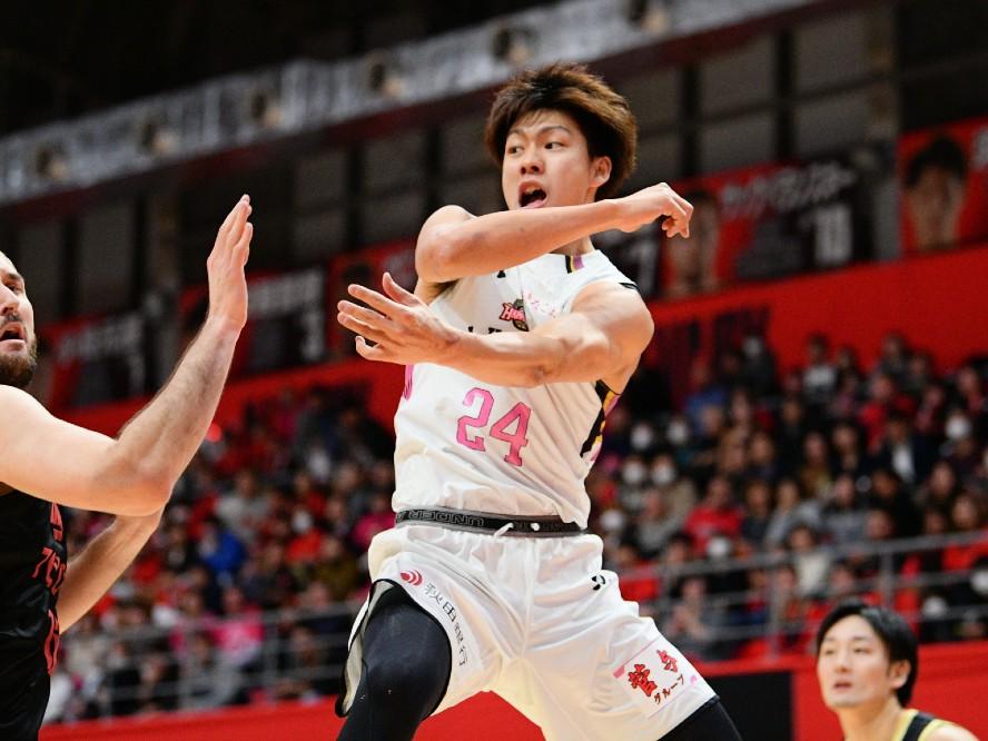 成長を続ける秋田ノーザンハピネッツの保岡龍斗「初めて自分のことよりもチームの勝利を考えた」