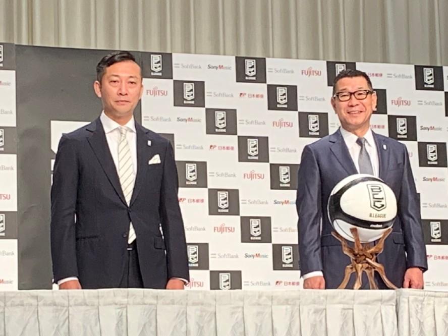 Bリーグの島田慎二新チェアマンが誕生「変化に適応し、危機を乗り越えてさらなる成長に尽力したい」