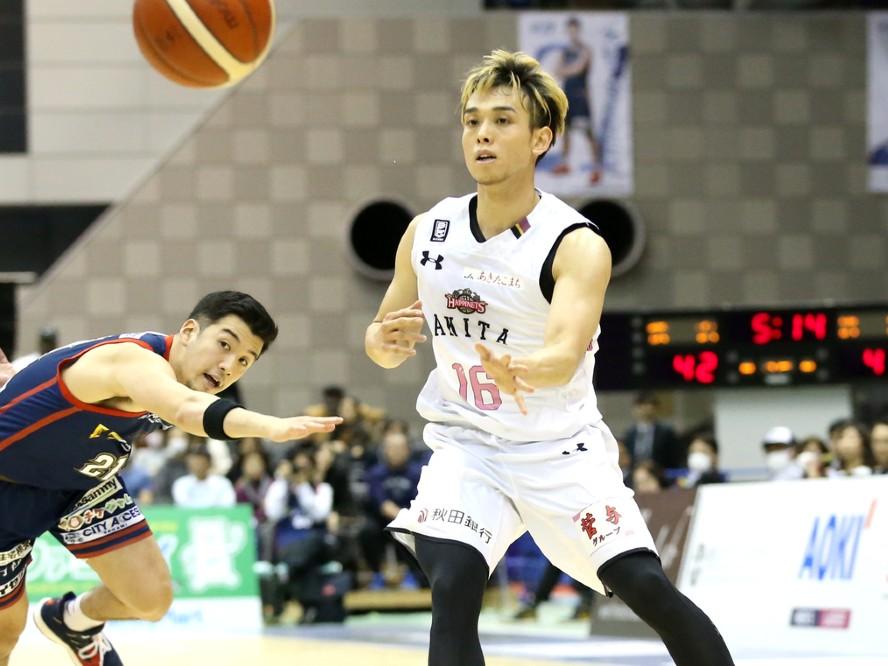 秋田ノーザンハピネッツが伊藤駿と契約継続「ブレない芯の通った強いチームを」