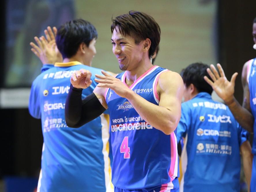 滋賀レイクスターズの再構築、新たなチャレンジに燃える狩俣昌也「頼りになる仲間と、みんなで力を合わせて」
