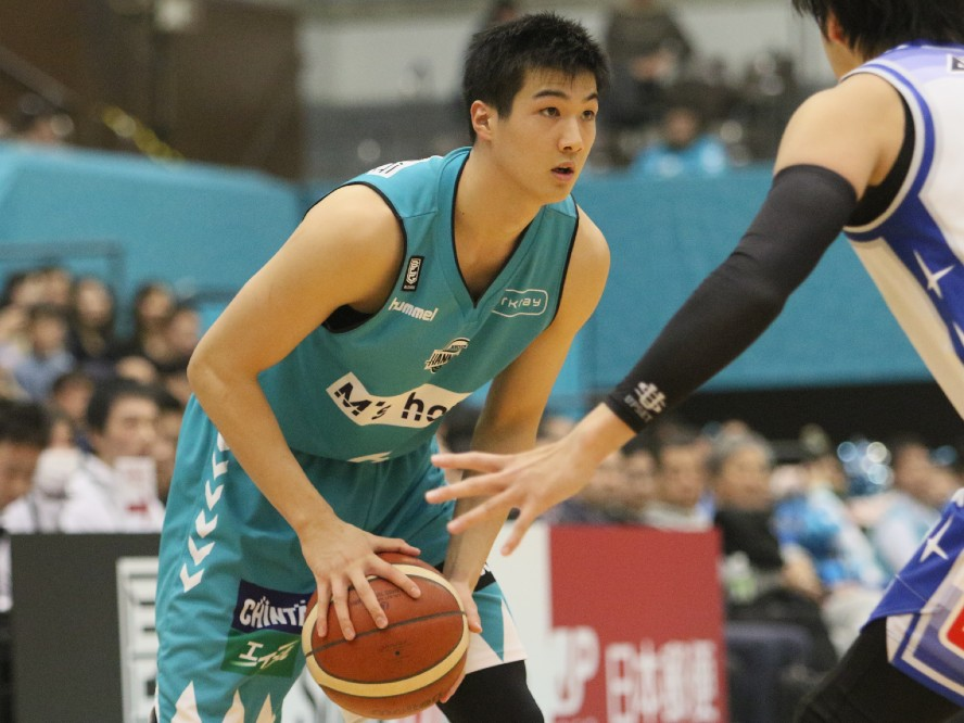 大型ポイントガード中村太地が『アジア枠』の適用第1号に、新天地は韓国リーグの原州DBプロミ