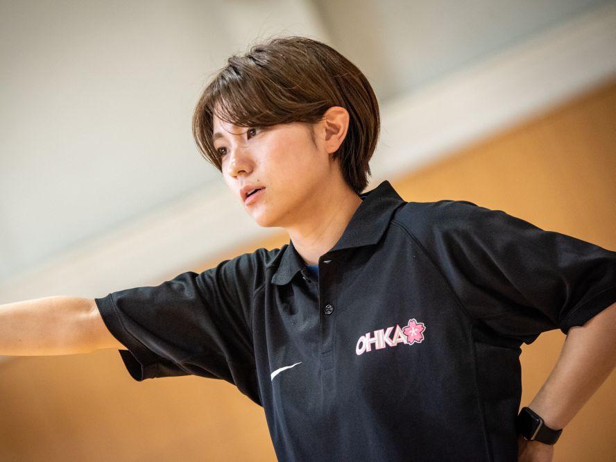 再始動の桜花学園、選手たちを見守る外山優子アシスタントコーチ「選手と一緒に成長しています」