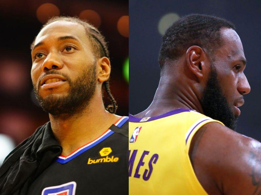 シーズン再開初日に『対照的な優勝候補』レイカーズとクリッパーズが激突、NBA優勝に向けた挑戦がスタート