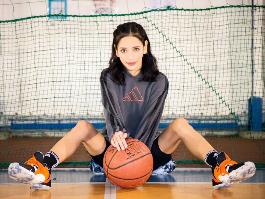[日本バスケットボール応援企画]ソーシャルディスタンスを守りつつ、萌音ちゃんと草バスケ再開!