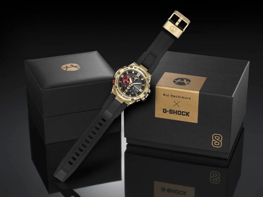 自身初のG-SHOCKシグネチャーモデル発売に八村塁「僕のロゴが時計に刻まれているのもすごくかっこいい」