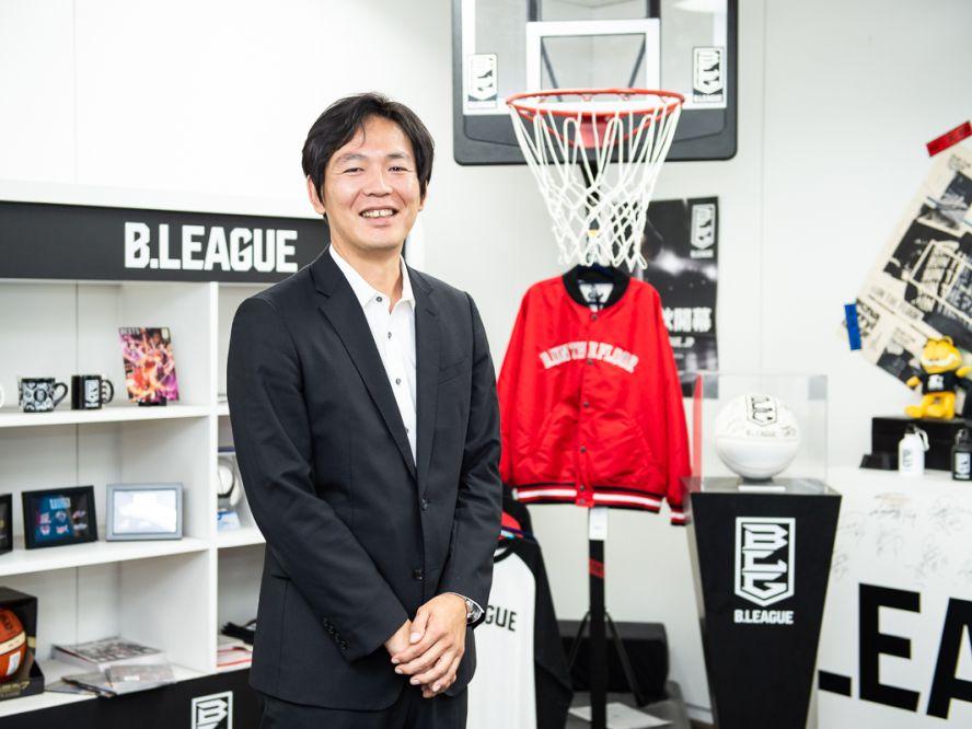 フェイズ2のBリーグを占うvol.3 佐野正昭(Bマーケティング取締役兼Bリーグ執行役員)「バスケの価値を、もっと上げていきたい」