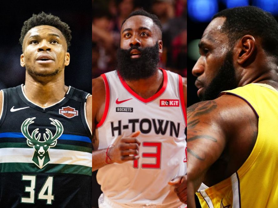NBAが各個人賞ファイナリストのファイナリストを発表、MVPはアデトクンボ、ハーデン、レブロンの争いに