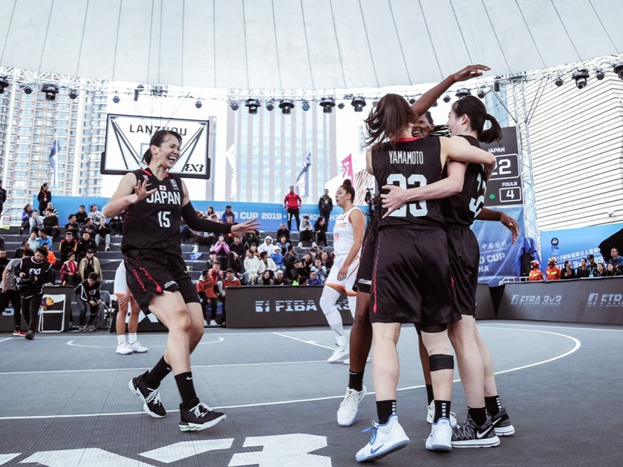 男女揃っての東京オリンピック出場を目指す3人制バスケ『3x3』日本代表「良いメダルを獲得できるように」